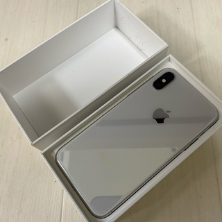 Apple - iPhoneX 新品 256GB iPhone10 シルバー 箱付き