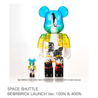 MEDICOM TOY - 【最安値】SPACE SHUTTLE  BE@RBRICK LAUNCH Ver