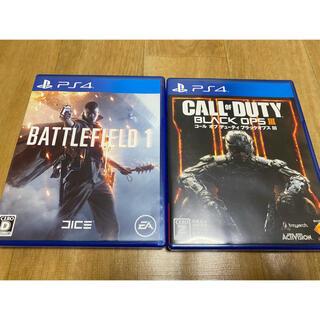 PlayStation4 - デューティブラックオプスIII. バトルフィールド1 PS4ソフト