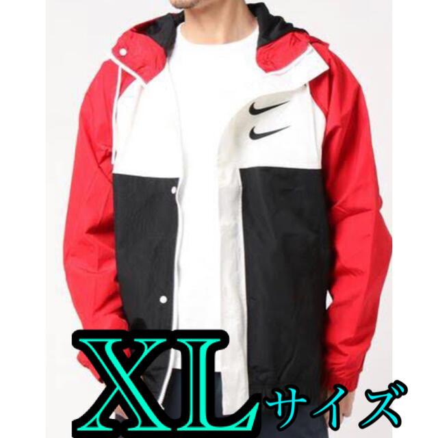 NIKE(ナイキ)のNIKE ウーブンジャケット ナイロンジャケット スウッシュ メンズ XL 新品 メンズのジャケット/アウター(ナイロンジャケット)の商品写真