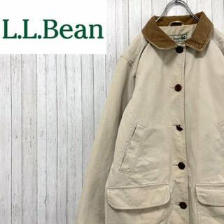 エルエルビーン(L.L.Bean)のエルエルビーン ハンティングジャケット 襟コーデュロイ インナーキルティング S(ブルゾン)