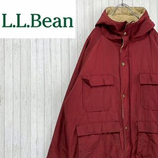 エルエルビーン(L.L.Bean)のエルエルビーン マウンテンパーカー ナイロンジャケット ボルドー ビッグサイズ(マウンテンパーカー)