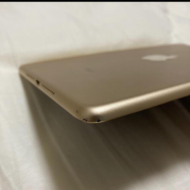 iPad(アイパッド)の【セルラーモデル】iPad mini 4 32GB ゴールド SIMフリー スマホ/家電/カメラのPC/タブレット(タブレット)の商品写真