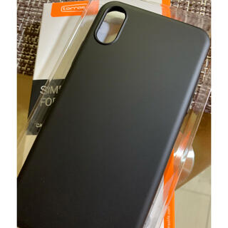 iPhone - turras iPhone XSケース【極薄マットBLACK.新古品】
