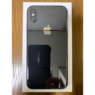 iPhone - iPhone X スペースグレイ 64GB SIMフリー