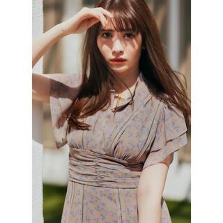 【新品未使用】Muguet-printed Romantic Dress