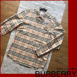 BURBERRY - ♡ バーバリー ヴィンテージチェック コットンシャツ…アーカイブベージュ♡