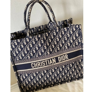 Christian Dior - Christian Dior ブックトート トートバッグ