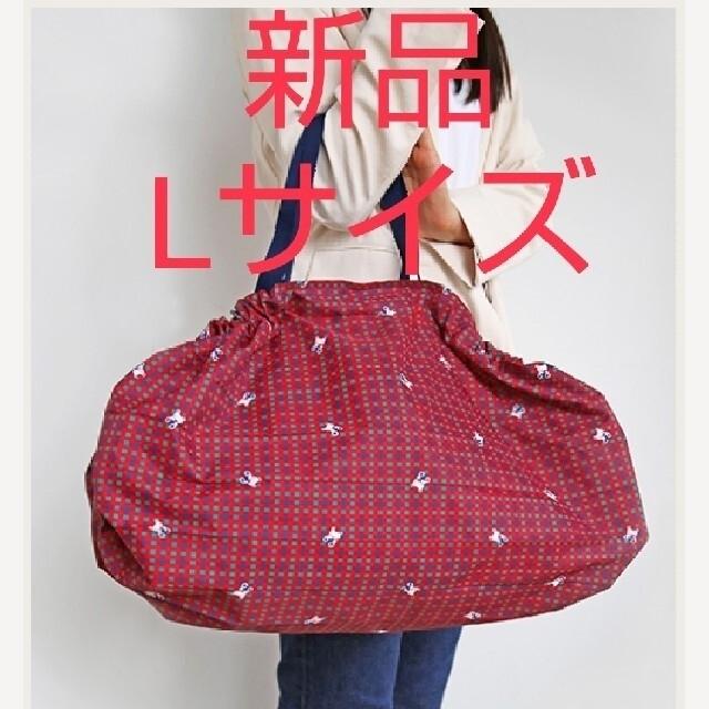 familiar(ファミリア)の新品ファミリア シュパットLサイズ レッド レディースのバッグ(エコバッグ)の商品写真