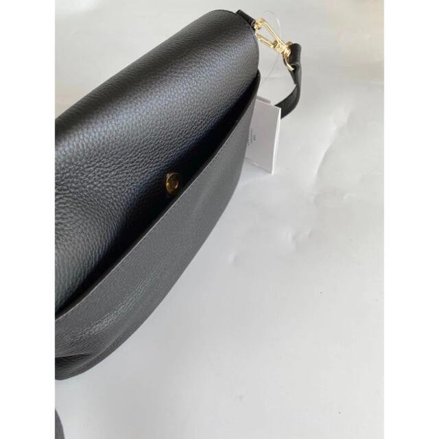 agnes b.(アニエスベー)の新品☆【agnes b.】アニエスベー牛革ショルダーバッグGブラック レディースのバッグ(ショルダーバッグ)の商品写真