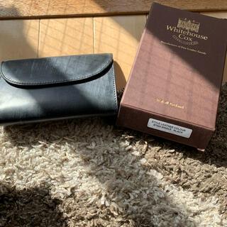 ホワイトハウスコックス(WHITEHOUSE COX)の新品‼️ ホワイトハウスコックス 三つ折り財布 (折り財布)