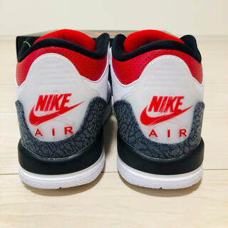 "NIKE - エアジョーダン3 SE ""WHITE/FIRE RED GS 23.5"