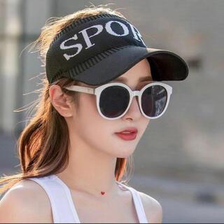 新品未使用 メッシュサンバイザー 女性用 レディース 帽子 紫外線対策