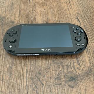 PS Vita本体ブラック PCH-2000 ZA11