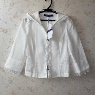 エムズグレイシー(M'S GRACY)の☆エムズグレイシー☆タグ付き新品‼︎可愛いメッシュのジャケット♪(パーカー)