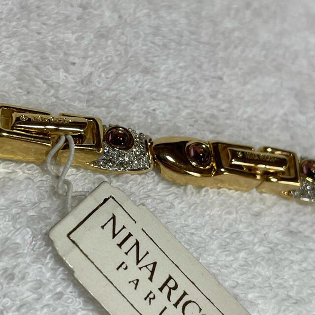 NINA RICCI(ニナリッチ)のNINA RICCI ニナリッチ ネックレス レトロアクセサリー ヴィンテージ レディースのアクセサリー(ネックレス)の商品写真