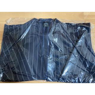 GU - 新品 GU×ミハラヤスヒロ ノーカラージャケット ネイビー Mサイズ タグ付き