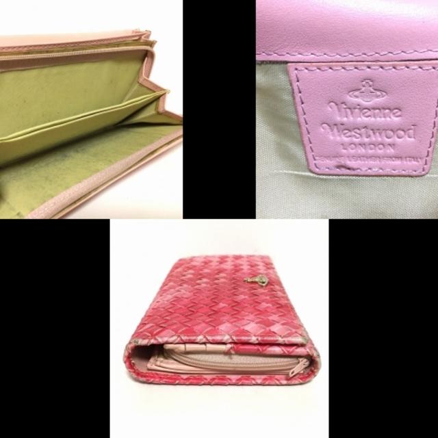 Vivienne Westwood(ヴィヴィアンウエストウッド)のヴィヴィアンウエストウッド - レザー レディースのファッション小物(財布)の商品写真
