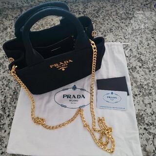 PRADA - 【23日まで限定出品】人気デザイン♪  PRADA カナパ ミニ