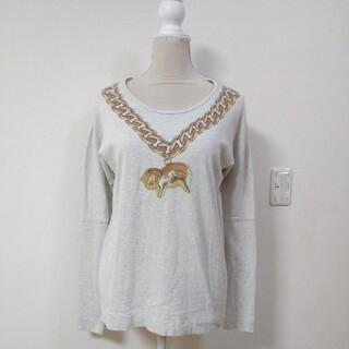 ヴィヴィアンウエストウッド(Vivienne Westwood)のVivienne Westwood ロンT ゴールドチェーン ネックレス(Tシャツ(長袖/七分))