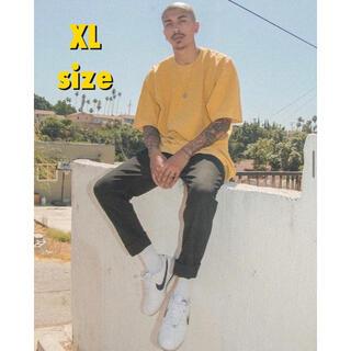SHAKA WEAR  イエロー XLサイズ GARMENT DYE Tシャツ(Tシャツ(半袖/袖なし))