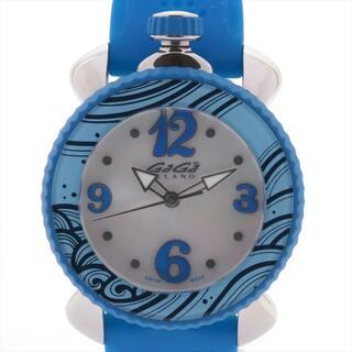 ガガミラノ(GaGa MILANO)のガガミラノ レディスポーツ SS×ラバー   レディース 腕時計(腕時計)