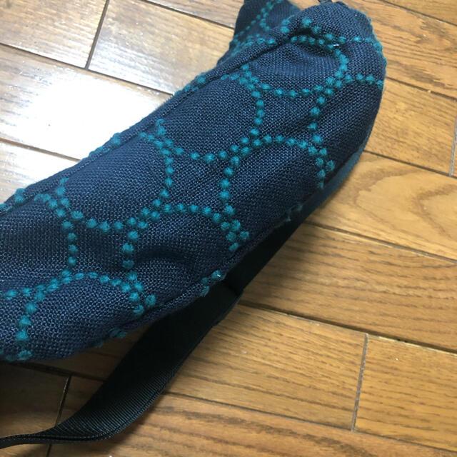 mina perhonen(ミナペルホネン)の訳ありsale ミナペルホネン  リネンタンバリン ハンドメイドボディバッグ レディースのバッグ(ショルダーバッグ)の商品写真
