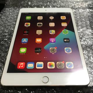 iPad - iPad mini4 Wi-Fi+Cellular 16GB ゴールド 本体のみ