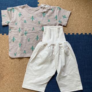 フタフタ(futafuta)のテータテート パジャマ 90 半袖(パジャマ)