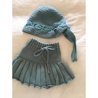 Caramel baby&child  - 美品・Misha&Puff スカート帽子セット