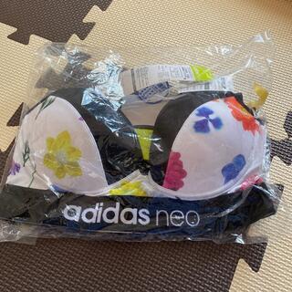 アディダス(adidas)のadidas neo 花柄ノンワイヤーブラジャー M(ブラ)