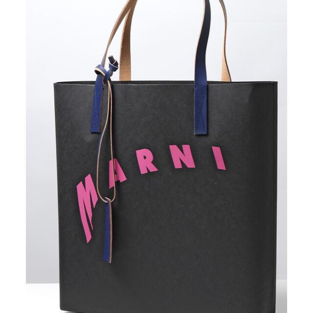 Marni(マルニ)のMarni レザートートバッグ メンズのバッグ(トートバッグ)の商品写真