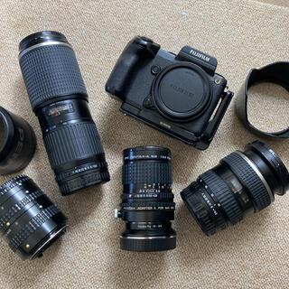 富士フイルム - FUJIFILM GFX 50S + レンズ3本+アダプター+ Lブラケット