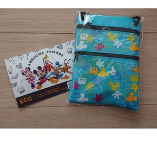 ディズニー(Disney)の※5/24削除※ディズニーショルダーマルチケース ECC ポストカード付(ポシェット)