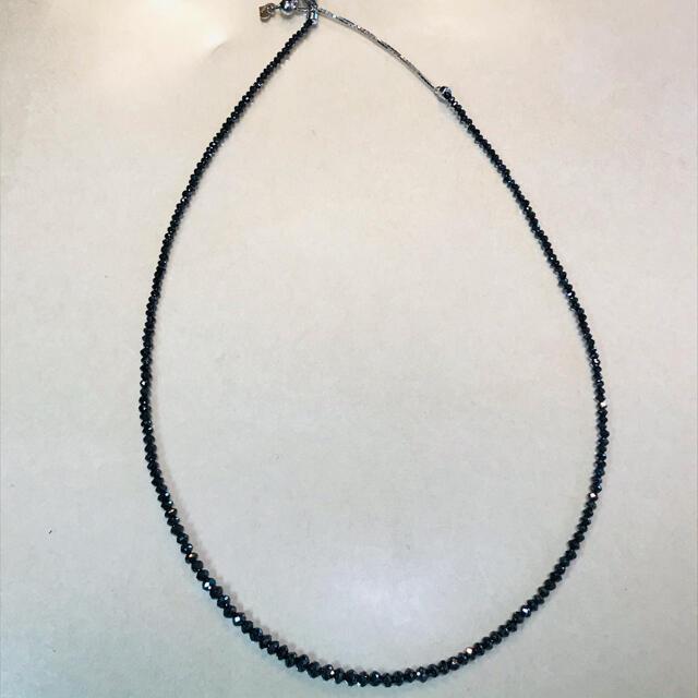メリー様専用です。20ct ブラックダイヤモンド ネックレス レディースのアクセサリー(ネックレス)の商品写真