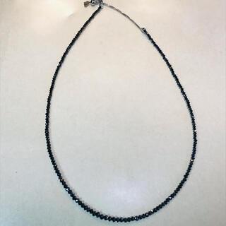 20ct ブラックダイヤモンド ネックレス