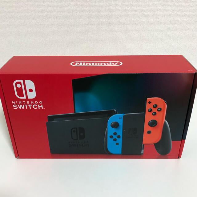Nintendo Switch(ニンテンドースイッチ)のNintendo Switch 新品未開封 本体 ネオン エンタメ/ホビーのゲームソフト/ゲーム機本体(家庭用ゲーム機本体)の商品写真