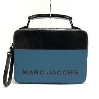 マークジェイコブス(MARC JACOBS)のマークジェイコブス - ブルーグリーン×黒(ハンドバッグ)