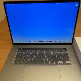 Mac (Apple) - MacBook Pro 16インチ最新版 メモリ:16GB SSD:512GB
