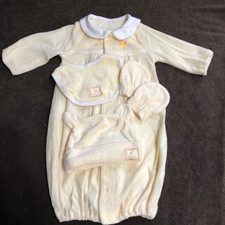 新生児服4点セット(セレモニードレス/スーツ)