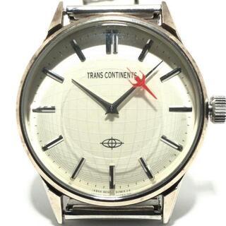 トランスコンチネンツ(TRANS CONTINENTS)のトランスコンチネンス 腕時計 - レディース(腕時計)