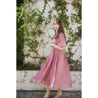 新品 Her lip to  Airy Volume Sleeve Dress
