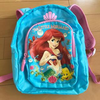 Disney - 美品!ディズニープリンセス アリエル リュック バッグ キッズバッグ