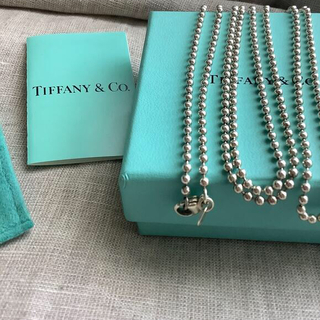 Tiffany & Co. - ティファニー ボールチェーンネックレス  未使用品