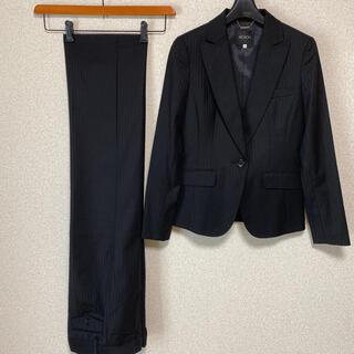 BOSCH - ボッシュ パンツスーツ 36 W70 黒 未使用に近い 高級感 DMW