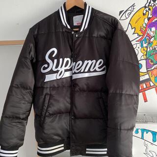 Supreme - Supreme Script Varsity Puffy Jacket