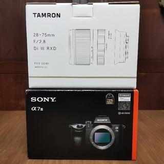 SONY - [セット]SONYα7Ⅲ / TAMRON28-75mmF2.8