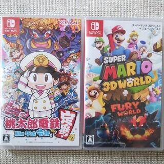 ニンテンドースイッチ(Nintendo Switch)の桃太郎電鉄    スーパーマリオ3dワールド(家庭用ゲームソフト)