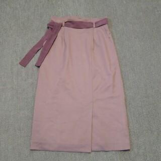 PROPORTION BODY DRESSING - プロポーションボディドレッシング ベルト付きロングタイトスカート Mサイズ