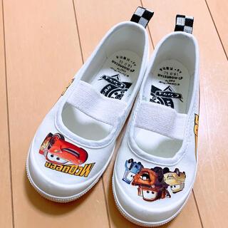 ディズニー(Disney)の【新品】カーズ 上靴 シューズ(スクールシューズ/上履き)